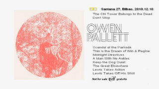 Owen Pallett Bilbao Spain Santana DVD